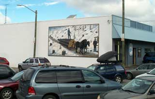 Bancroft Forestry mural - 2011